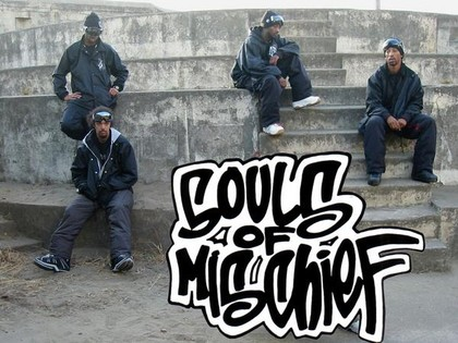 """this is how we chill from 93 til"" - Souls of Mischief live im Karlstorbahnhof Heidelberg"